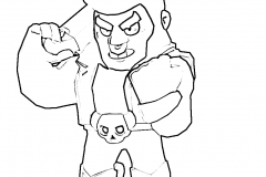 Brawl-Stars-coloring-pages-Bull