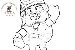 Brawl-Stars-coloring-pages-Dynamike