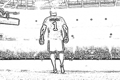 Jalkapallo-Värityskuva-Szczesny