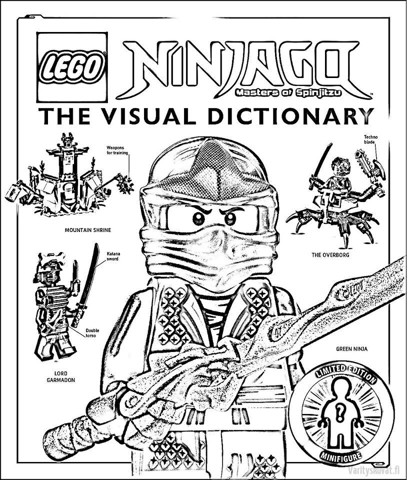 LEGO-Ninjago-värityskuvat