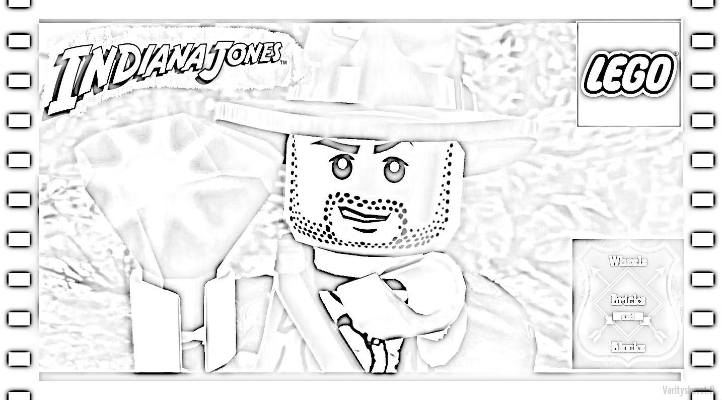 Lego Indiana Jones Coloring Pages Coloring Pages Of