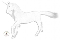 Unicorn coloring pages 5