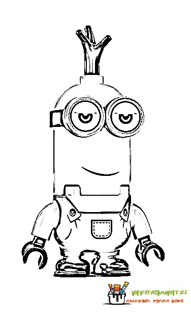 Minions varityskuva 3 Coloring Pages Of Minions 3