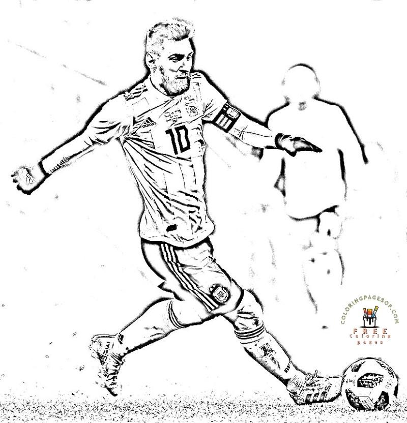 Football Messi