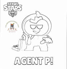 Brawl Stars coloring pages of Brawl Stars- Brawl Stars coloring pictures. - Free coloring pages for kids and adults